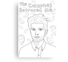 The Calones Betrayed Me Canvas Print