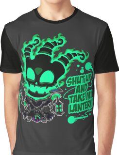 SHUT UP AND TAKE MY LANTERN!! Graphic T-Shirt