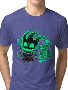 SHUT UP AND TAKE MY LANTERN!! Tri-blend T-Shirt
