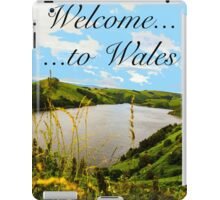 Welcome to Wales iPad Case/Skin
