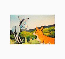 Donkey~Welsh Pembroke Corgi~Dog~Goldfield~Colorado~ Unisex T-Shirt