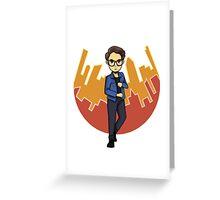 NY Simon Lewis  Greeting Card