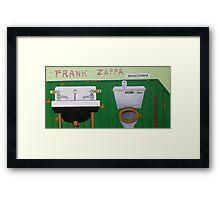Frank Zappa Waka Jawaka Framed Print