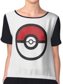 Pokémon GO Pokéball Squad by PokeGO Chiffon Top