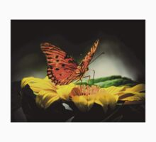 Passion butterfly at night Baby Tee