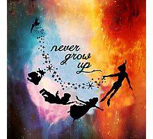 Nebula Never Grow Up Photographic Print