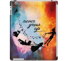 Nebula Never Grow Up iPad Case/Skin
