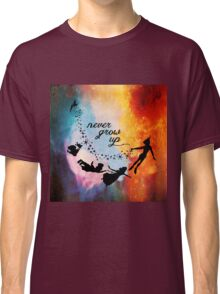 Nebula Never Grow Up Classic T-Shirt
