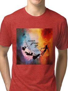 Nebula Never Grow Up Tri-blend T-Shirt