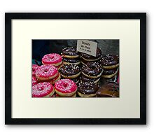 Donuts for you!  Framed Print
