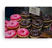 Donuts for you!  Canvas Print