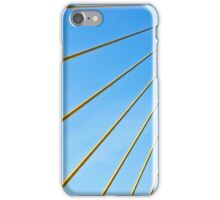 Golden Cables iPhone Case/Skin