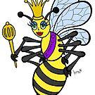 Beauty Queen Bee by Brett Gilbert
