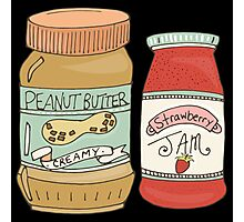 Peanut Butter And Jam Photographic Print