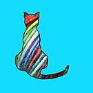 Yarn Cat by Trish Peach