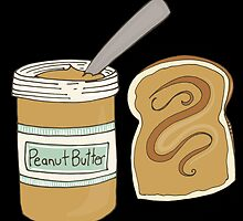 Peanut Butter On Bread by kwg2200