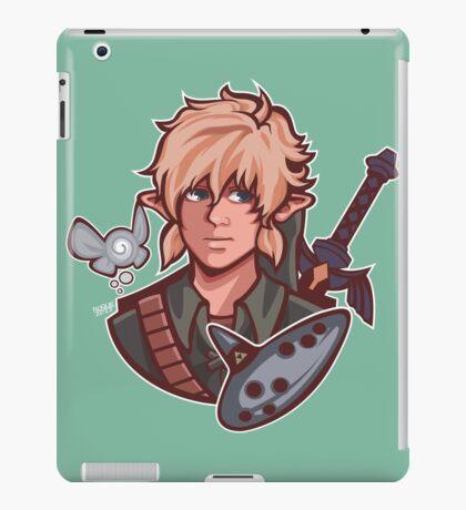 Link- Zelda ocarina of time iPad Case/Skin