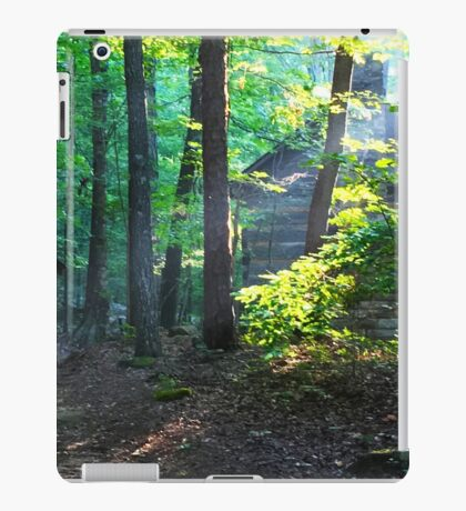Sunrise Over Pioneer Cabin iPad Case/Skin