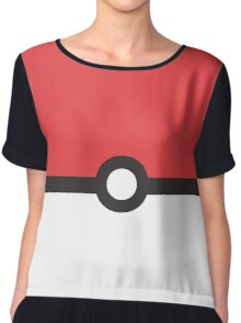 Minimalist Pokemon Chiffon Top