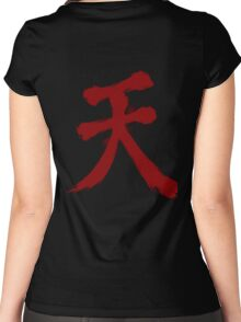 Raging Demon - Akuma Women's Fitted Scoop T-Shirt