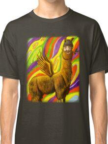 The Flying Llama Dude Classic T-Shirt
