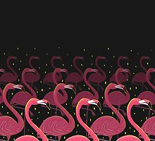 Flamingo March by kookylane