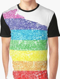 wisconsin rainbow Graphic T-Shirt
