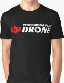 New Design Drone DJI Professional pilot Graphic T-Shirt