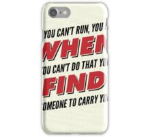 Firefly/Serenity Quote iPhone Case/Skin