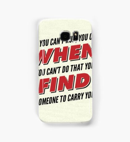 Firefly/Serenity Quote Samsung Galaxy Case/Skin