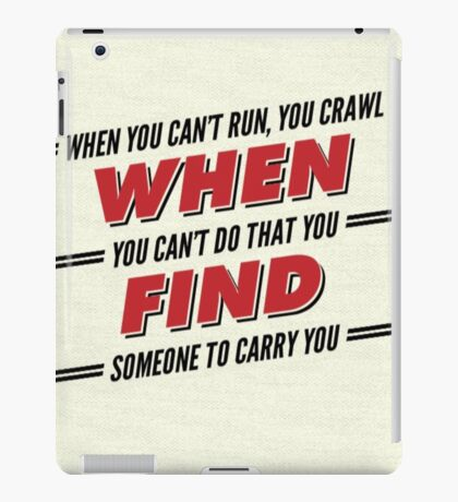 Firefly/Serenity Quote iPad Case/Skin