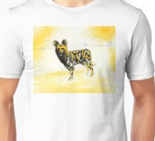 African Wild Dog Notes Unisex T-Shirt