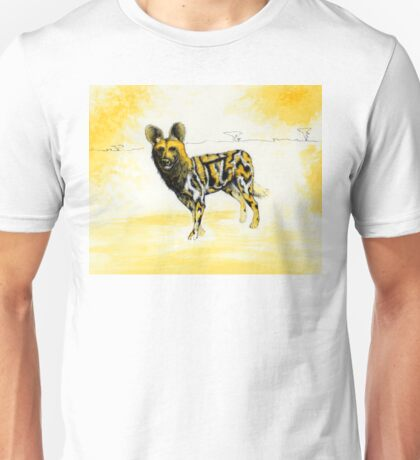 African Wild Dog Notes T-Shirt