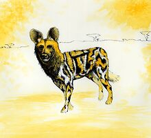 African Wild Dog Notes by Bart Castle