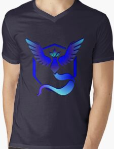 Pokemon GO: TEAM MYSTIC Mens V-Neck T-Shirt