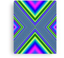 Psychedelic Geometry Canvas Print
