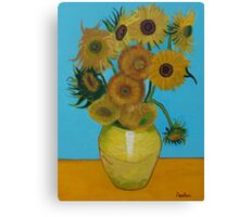 Vincent Van Gogh, sunflowers Canvas Print