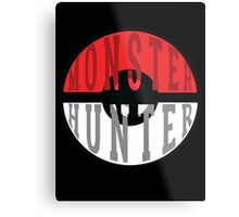 Monster Hunter Metal Print