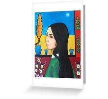 Arles, France Van Gogh protestitute, Rachael Greeting Card