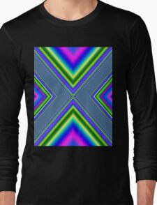 Psychedelic Geometry Long Sleeve T-Shirt
