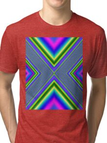 Psychedelic Geometry Tri-blend T-Shirt