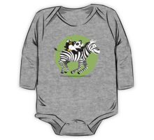 Black and White Buddies One Piece - Long Sleeve