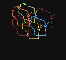 wisconsin pride blur Unisex T-Shirt