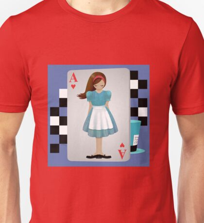 Alice 3D Flying Cards T-Shirt