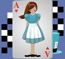 Alice 3D Flying Cards by Audra Lemke
