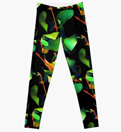 Chromatic Leaves III Leggings