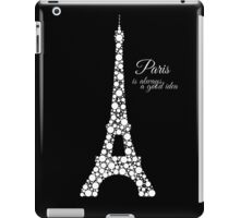 Paris is always a good idea iPad Case/Skin