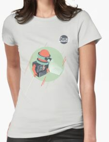 Future is Hollow Graphics Womens Fitted T-Shirt