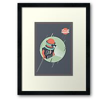 Future is Hollow Graphics Framed Print