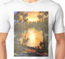 Sunset on Brisbane River Unisex T-Shirt